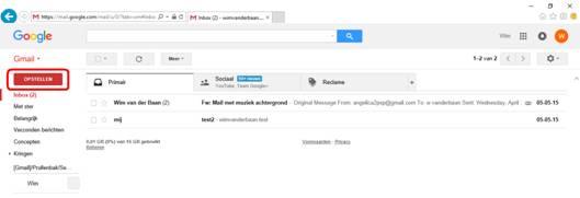 Gmail zonder mailprogramma